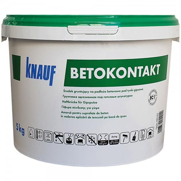 Грунтовка Бетоконтакт, 5 кг.