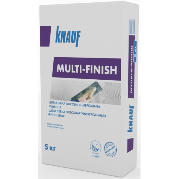Шпаклевка Knauf Multi-Finish 5 кг