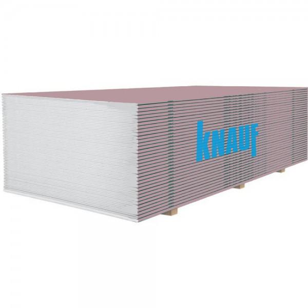 Гипсокартон огнестойкий Knauf 2500х1200x12,5 мм