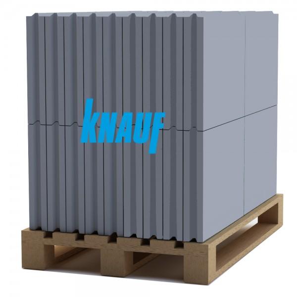 Гипсовая пазогребневая плита Knauf (666х500x80 мм.)