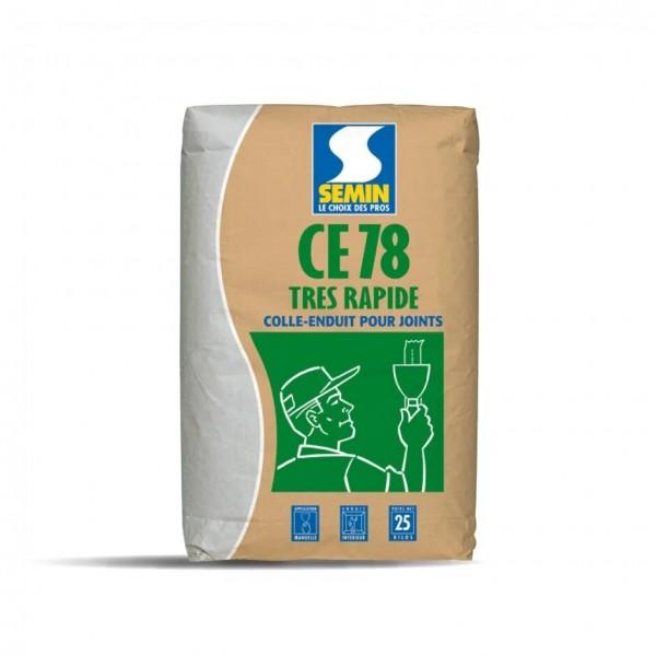 Шпаклевка гипсовая SEMIN CE-78 TRES RAPIDE 25 кг