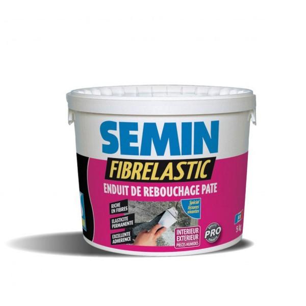 Шпаклевка готовая SEMIN FIBRELASTIC эластичная 1.5 кг