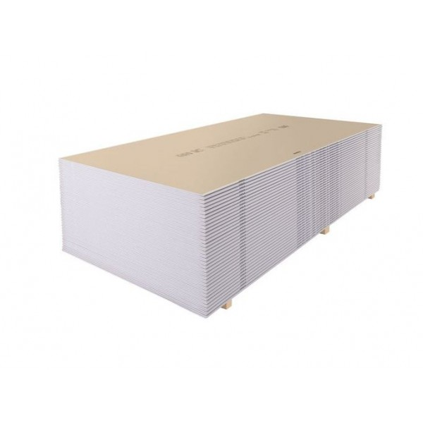 Гипсокартон стеновой Knauf 2000х1200x12,5 мм