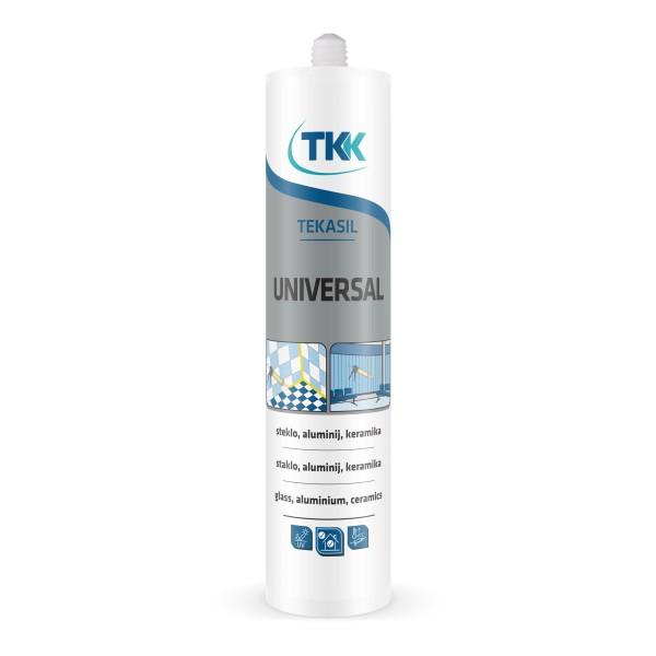 Герметик силиконовый белый  универсальный TEKASIL UNIVERSAL WHITE 280 ml