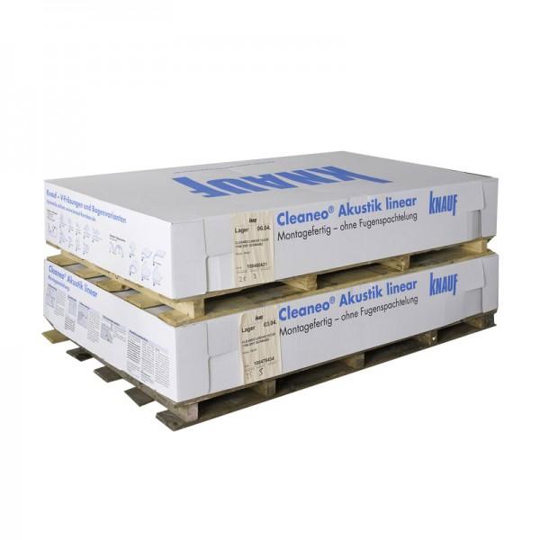 Гипсокартон акустический CleaneoAkustik Knauf 2000х1200x12,5 мм 12/25R 4SK FV