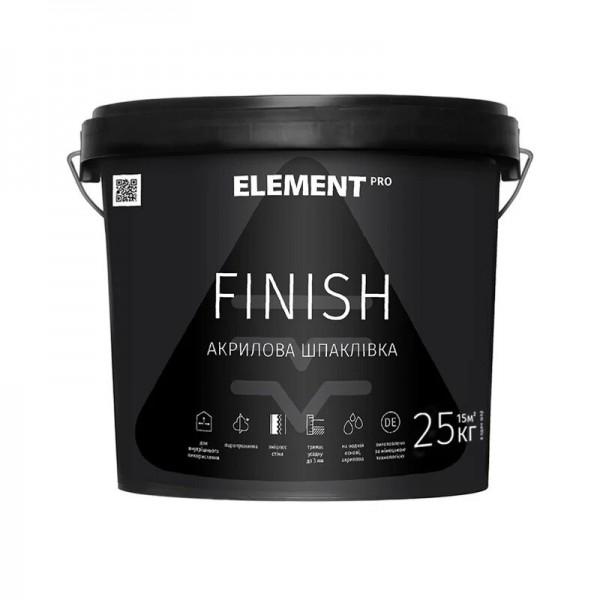 Element PRO Шпаклёвка Finish 25 кг