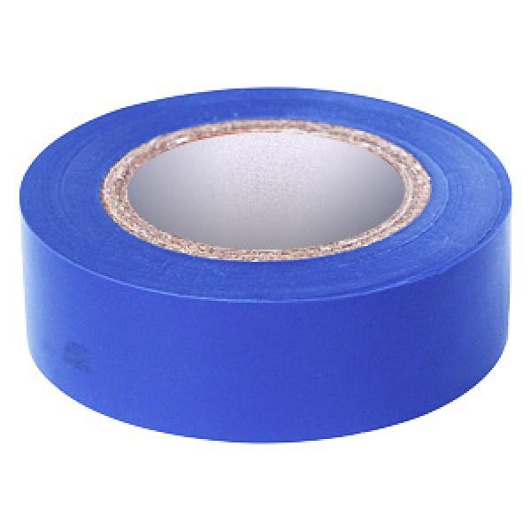 Изолента ПВХ синяя 19 мм, 20 м