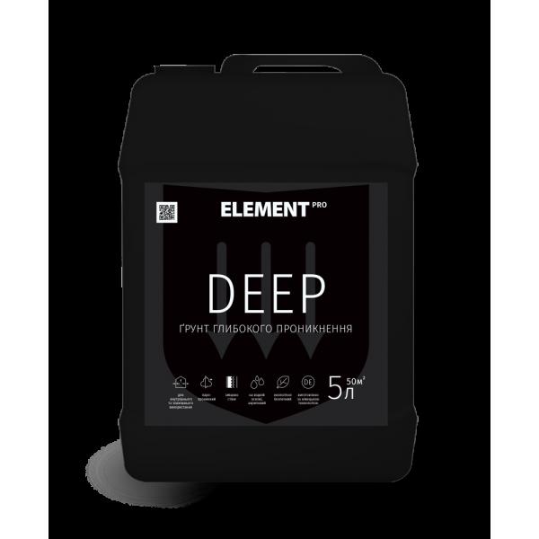 Грунт глубокого проникновения Element PRO DEEP, 10 л