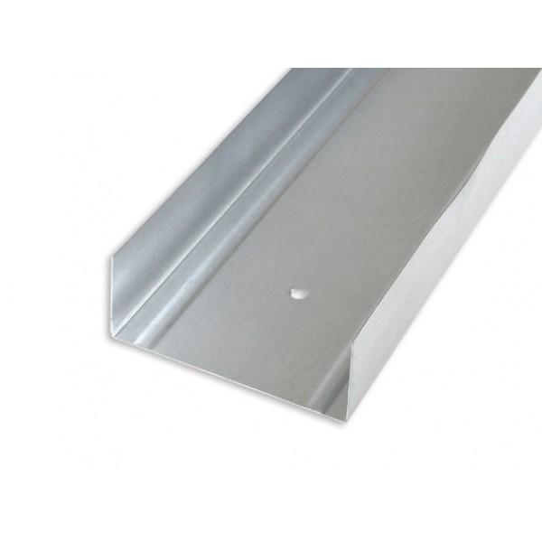 Профиль направляющий UW 75/4 м толщина 0,55 мм