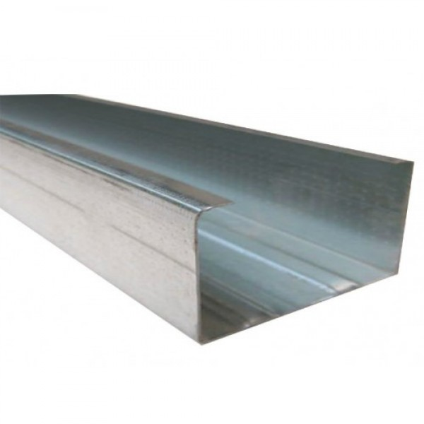Профиль направляющий UW 100/4 м толщина 0,50 мм