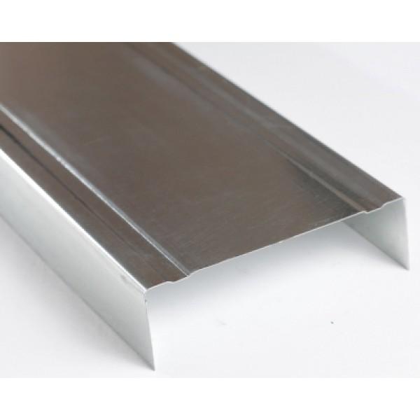 Профиль направляющий UW 75/4 м толщина 0,40 мм