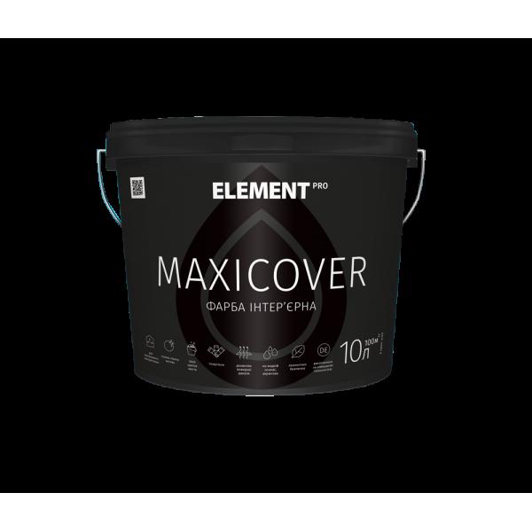 Интерьерная високопокрывная краска Element PRO MAXICOVER, 10л