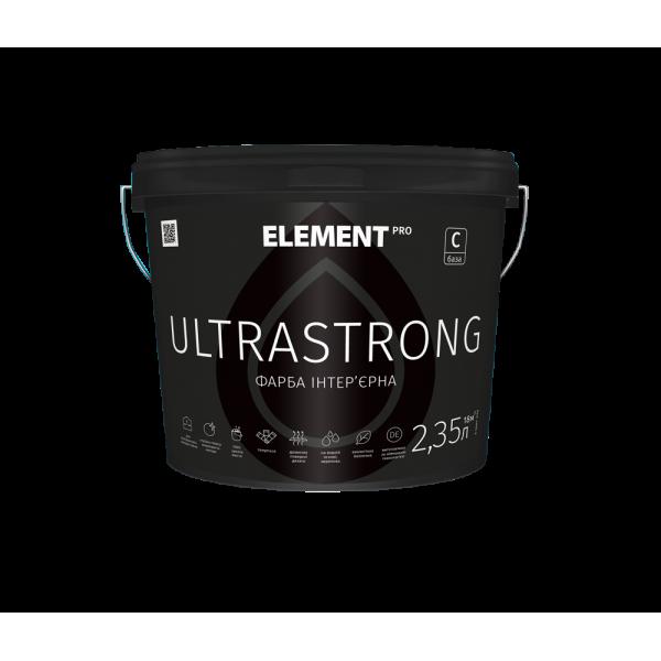 Интерьерная краска латексная Element PRO ULTRASTRONG 10л