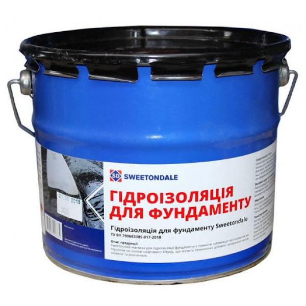 Мастика гидроизоляция для фундамента Sweetondale 17 кг