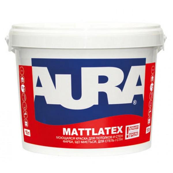 Краска Aura Mattlatex 10 л