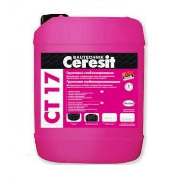 Грунтовка Ceresit CT-17 глубокого проникновения 10 л