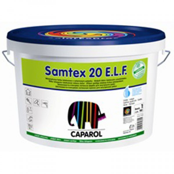 Краска Caparol Samtex 20 E.L.F. 10 л