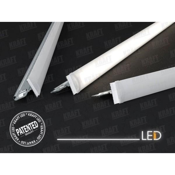 Светильники для подвесного потолка KRAFT LED-Т-24 600 мм, 29 Вт - 2 шт