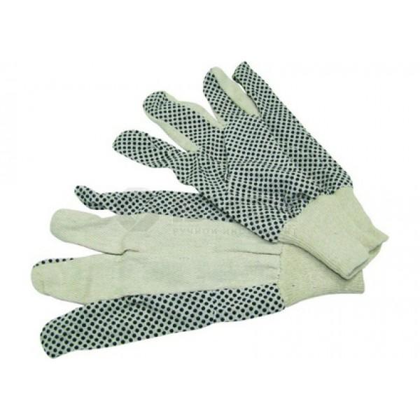 Перчатки с резиновыми вкраплениями