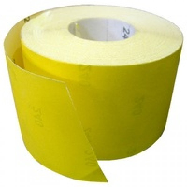 Бумага наждачная на бумажной основе 115мм х 50 м, зерн. 80