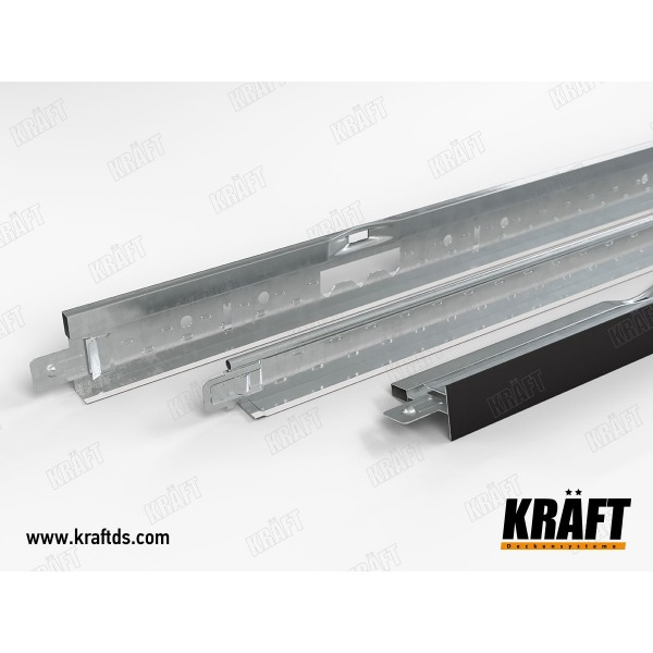 Профиль KRAFT Fortis Т-24 600 RAL 9003