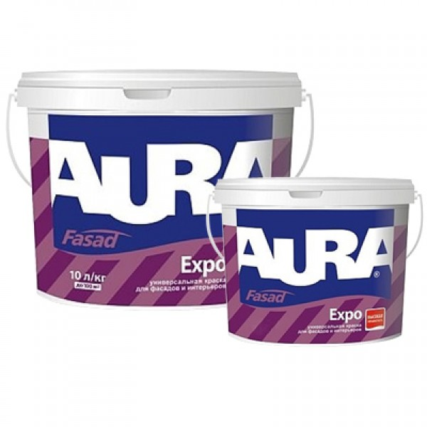 Краска Aura Fasad Expo, 10л