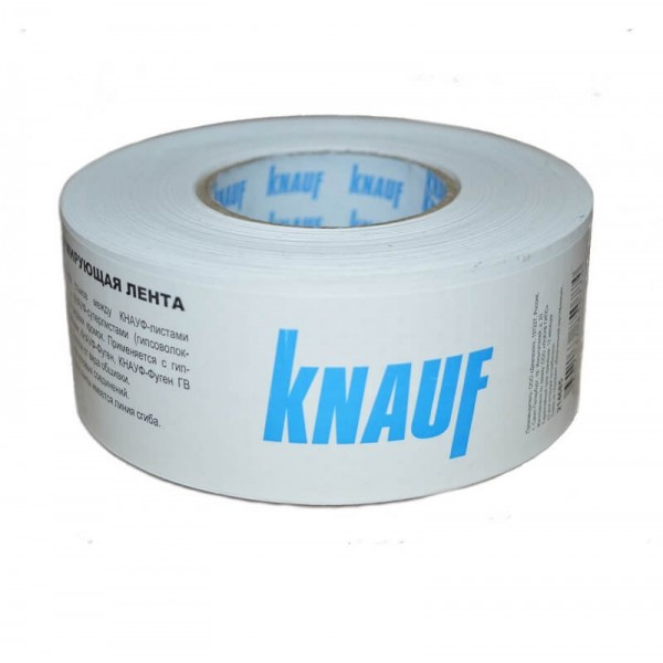 Лента Knauf бумажная для швов 75 м (Польша)