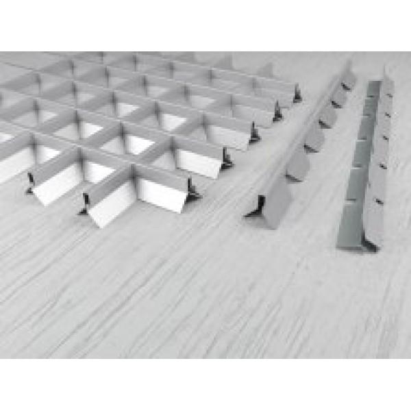 Пирамидальный грильято ячейка 75х75 RAL 9003, 9005, 9006