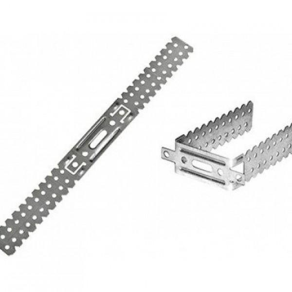 П-образный кронштейн, 125 мм 0,9 мм.