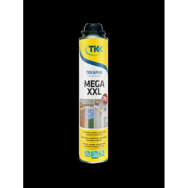Профессиональная монтажна пена TEKAPUR MEGA XXL GUN 850 ml