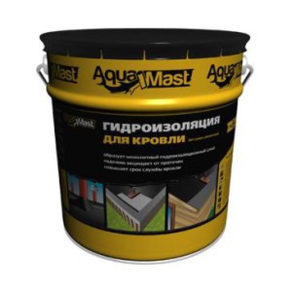 Мастика битумно-резиновая AquaMast, 18 кг