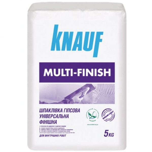 Шпаклевка Knauf Multi-Finish 5 кг