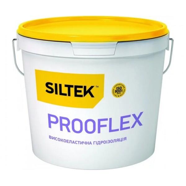 Гидроизоляция Siltek Prooflex высокоэластичная однокомпонентная (7,5 кг)