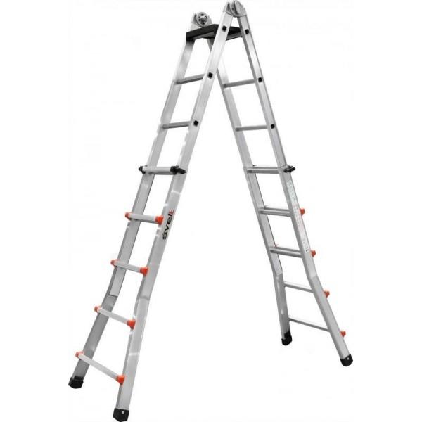 """Телескопическая лестница SVELT SCALISSIMA """"R"""" 9+9 ступеней"""