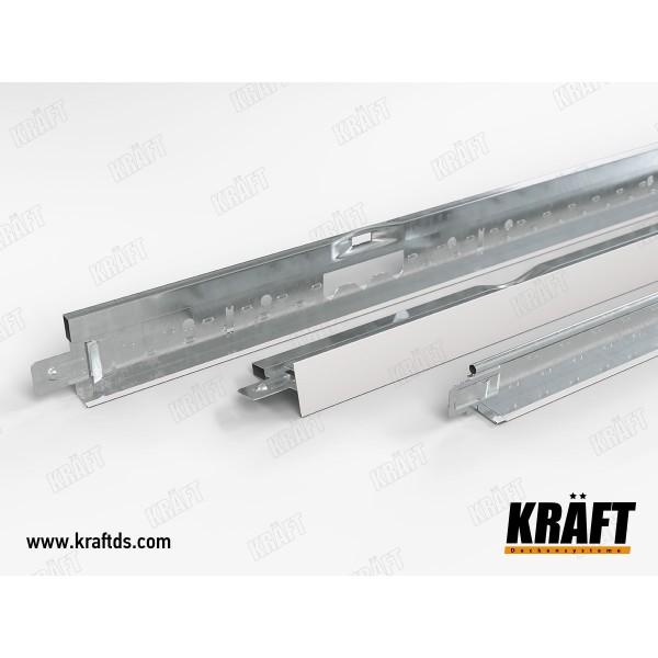 Профиль KRAFT NOVA Т-24 1200 RAL 9003