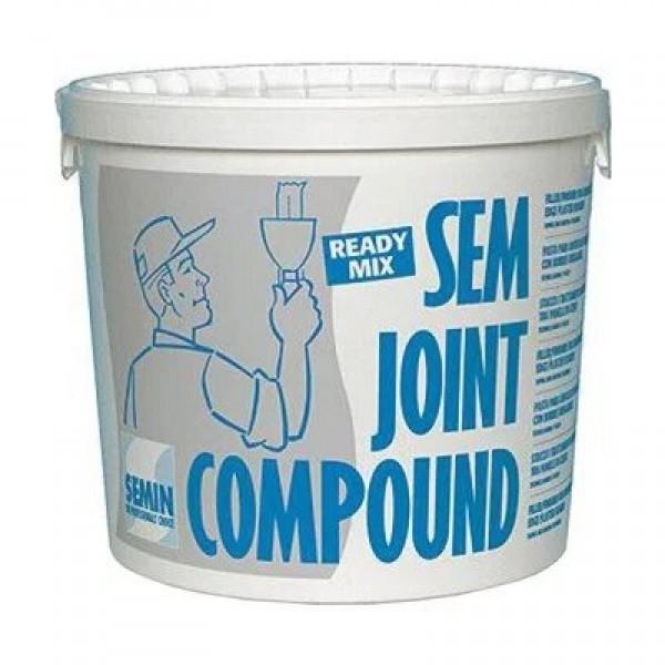 Шпаклевка готовая Semjoint Compound Semin, 25 кг.