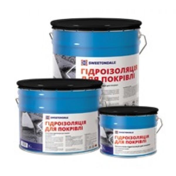 Гидроизоляция кровли мастика Sweetondale 3 кг