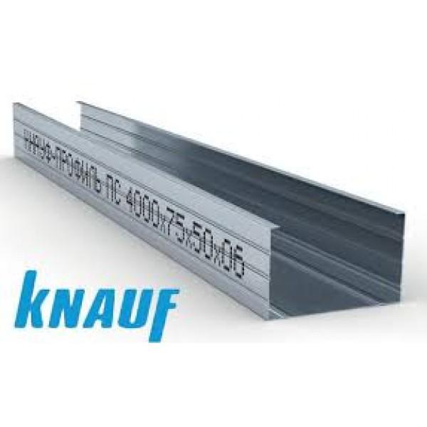 Профиль несущий КНАУФ CW 100, 4000 мм