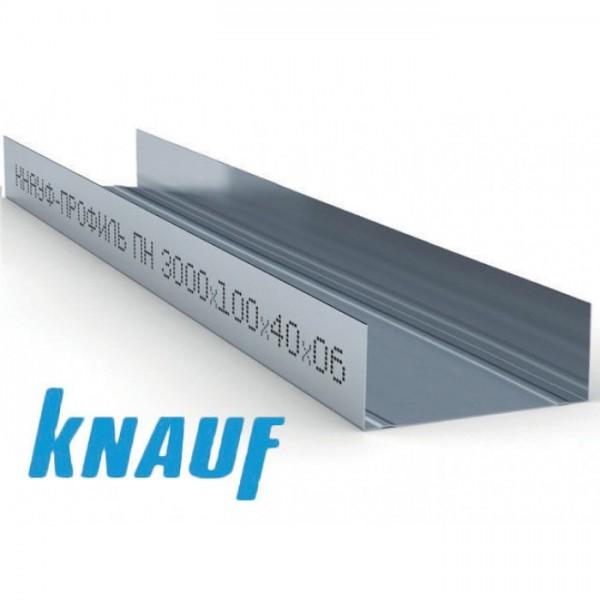 Профиль направляющий КНАУФ UW 100, 4000 мм