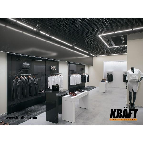 Светильники для подвесных потолков грильято KRAFT LED-G-15 600 мм, 29Вт -2 шт